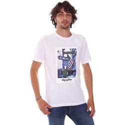 Îmbracaminte Bărbați Tricouri mânecă scurtă Refrigiwear RM0T24400JE9101 Alb