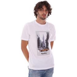 Îmbracaminte Bărbați Tricouri mânecă scurtă Refrigiwear RM0T25500JE9101 Alb