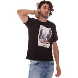 Îmbracaminte Bărbați Tricouri mânecă scurtă Refrigiwear RM0T25500JE9101 Negru