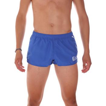 Îmbracaminte Bărbați Maiouri și Shorturi de baie Ea7 Emporio Armani 902008 7P731 Albastru