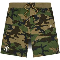 Îmbracaminte Bărbați Pantaloni scurti și Bermuda New-Era 12483685 Verde