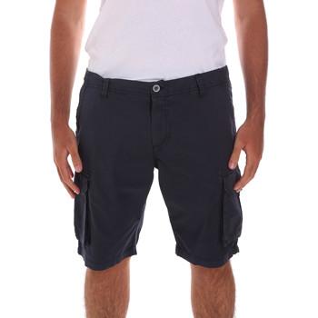 Îmbracaminte Bărbați Pantaloni scurti și Bermuda Key Up 2A04P 0001 Albastru