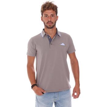 Îmbracaminte Bărbați Tricou Polo mânecă scurtă Bradano 509 Gri