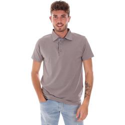 Îmbracaminte Bărbați Tricou Polo mânecă scurtă Bradano 600 Gri