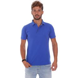 Îmbracaminte Bărbați Tricou Polo mânecă scurtă Bradano 201014M Albastru