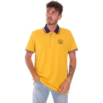 Îmbracaminte Bărbați Tricou Polo mânecă scurtă Key Up 2G89R 0001 Galben