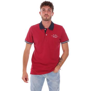 Îmbracaminte Bărbați Tricou Polo mânecă scurtă Key Up 2G94Q 0001 Roșu