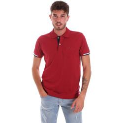 Îmbracaminte Bărbați Tricou Polo mânecă scurtă Key Up 2R56G 0001 Roșu