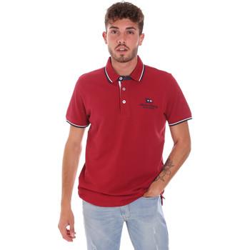 Îmbracaminte Bărbați Tricou Polo mânecă scurtă Key Up 2Q60G 0001 Roșu