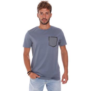 Îmbracaminte Bărbați Tricouri mânecă scurtă Antony Morato MMKS01025 FA100084 Albastru