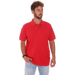 Îmbracaminte Bărbați Tricou Polo mânecă scurtă Key Up 2800Q 0001 Roșu