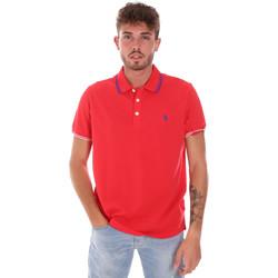 Îmbracaminte Bărbați Tricou Polo mânecă scurtă U.S Polo Assn. 38270 51711 Roșu