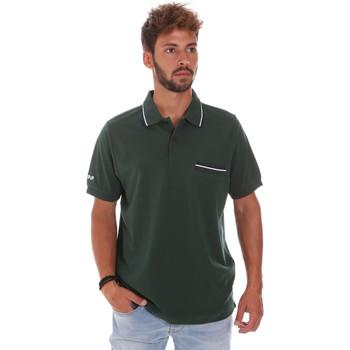 Îmbracaminte Bărbați Tricou Polo mânecă scurtă Key Up 2Q827 0001 Verde