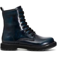 Pantofi Femei Ghete Café Noir FA9000 Albastru