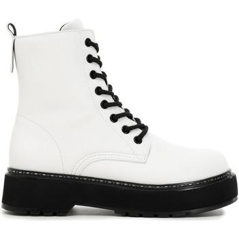 Pantofi Femei Ghete Café Noir FF9000 Alb