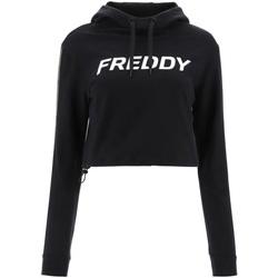 Îmbracaminte Femei Hanorace  Freddy F1WFTS3 Negru