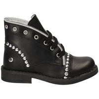 Pantofi Copii Ghete Melania ME1028B7I.A Negru