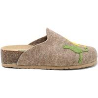 Pantofi Femei Papuci de casă Bionatura 12BLMOO-I-FELC65 Maro