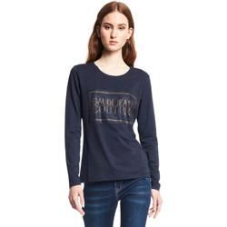 Îmbracaminte Femei Tricouri cu mânecă lungă  Gaudi 121BD64059 Albastru