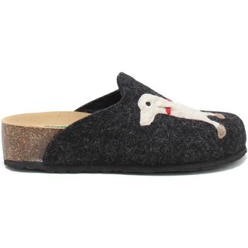 Pantofi Femei Papuci de casă Bionatura 12ARGO-I-FELA118 Negru