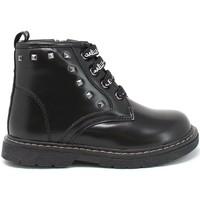 Pantofi Copii Ghete GaËlle Paris G-1270 Negru