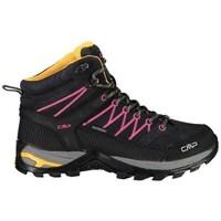 Pantofi Femei Drumetie și trekking Cmp Rigel Mid Wmn WP Negre