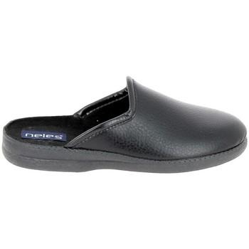 Pantofi Bărbați Papuci de casă Boissy JH9624 Noir Negru