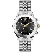 Ceasuri & Bijuterii Bărbați Ceasuri Analogice Versace  Argintiu