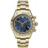 Ceasuri & Bijuterii Bărbați Ceasuri Analogice Versace  Auriu
