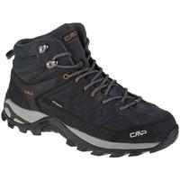Pantofi Bărbați Drumetie și trekking Cmp Rigel Mid Grise