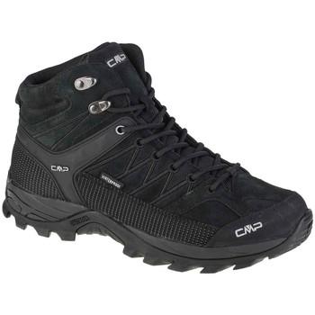 Pantofi Bărbați Drumetie și trekking Cmp Rigel Mid Noir