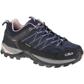 Pantofi Femei Drumetie și trekking Cmp Rigel Low Noir