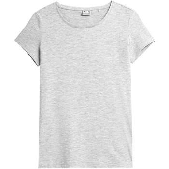 Îmbracaminte Femei Tricouri mânecă scurtă 4F TSD350 Gri