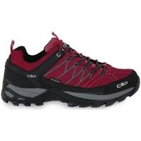 Pantofi Femei Drumetie și trekking Cmp Rigel Low Trekking Roșii