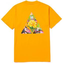 Îmbracaminte Bărbați Tricouri mânecă scurtă Huf T-shirt new dawn tt ss galben