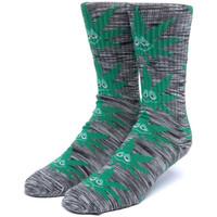 Accesorii Bărbați Sosete Huf Socks tiedye green buddy pl Negru