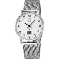 Ceasuri & Bijuterii Femei Cesuri Analogic- digital Master Time MTLS-10740-12M, Quartz, 36mm, 5ATM Argintiu