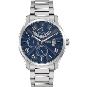 Ceasuri & Bijuterii Bărbați Ceasuri Analogice Bulova 96C147, Automatic, 43mm, 3ATM Argintiu