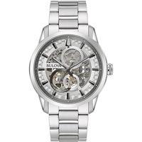 Ceasuri & Bijuterii Bărbați Ceasuri Analogice Bulova 96A267, Automatic, 43mm, 3ATM Argintiu