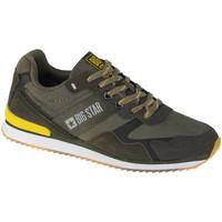 Pantofi Bărbați Pantofi sport Casual Big Star Shoes Vert