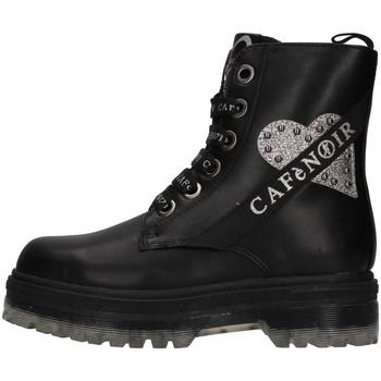Pantofi Fete Botine Café Noir C-1440 BLACK