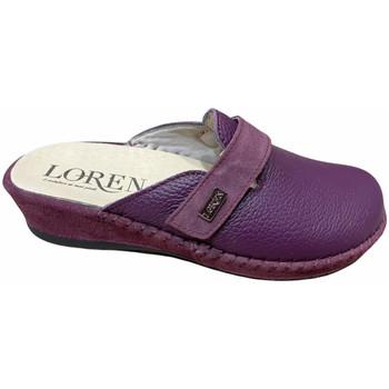 Pantofi Femei Saboti Calzaturificio Loren LOM2893pru blu