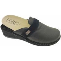 Pantofi Femei Saboti Calzaturificio Loren LOM2893ne nero