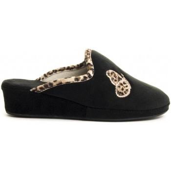 Pantofi Femei Papuci de casă Northome 71792 BLACK