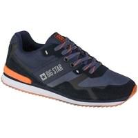 Pantofi Bărbați Pantofi sport Casual Big Star II174210 Negre, Albastru marim