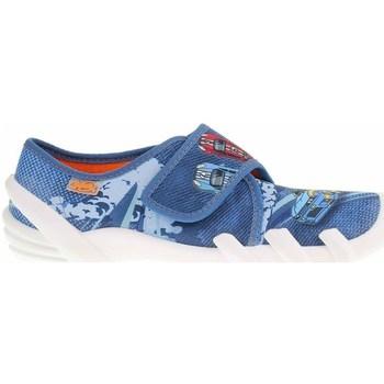 Pantofi Femei Papuci de casă Befado 273Y316 Albastre