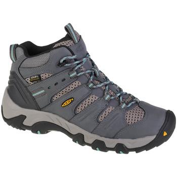 Pantofi Femei Drumetie și trekking Keen Koven Mid WP Grise