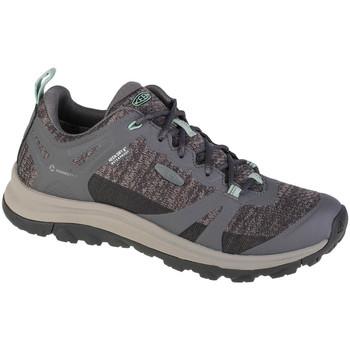 Pantofi Femei Drumetie și trekking Keen Terradora II WP Grise