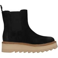 Pantofi Femei Botine Apepazza F1COUNTRY01/SUE BLACK
