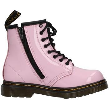 Pantofi Fete Botine Dr Martens 1460T PINK